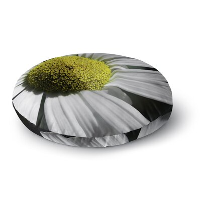 Nick Nareshni Open Daisy Round Floor Pillow Size: 23 x 23