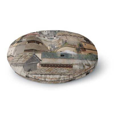 Nick Nareshni Florence Italy Hillside Photography Round Floor Pillow Size: 23 x 23