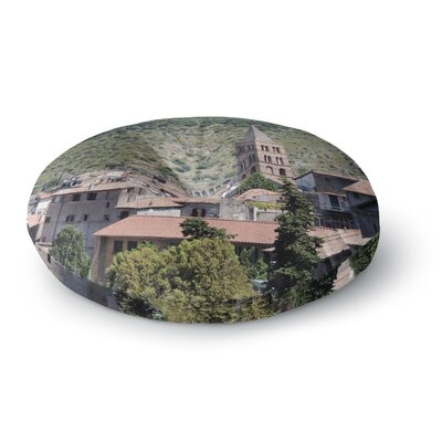 Nick Nareshni Florence Architecture Travel Photography Round Floor Pillow Size: 26 x 26