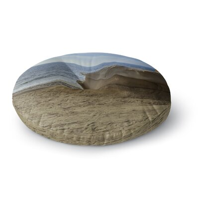 Nick Nareshni Rocks on the Beach Round Floor Pillow Size: 23 x 23