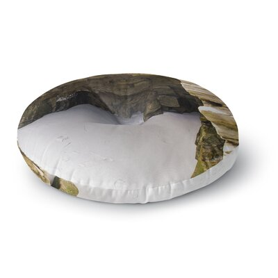 Nick Nareshni Sand and Stone Walls Round Floor Pillow Size: 23 x 23
