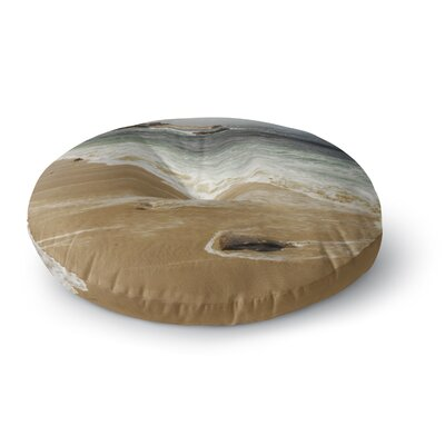 Nick Nareshni Sandy Waters Round Floor Pillow Size: 26 x 26