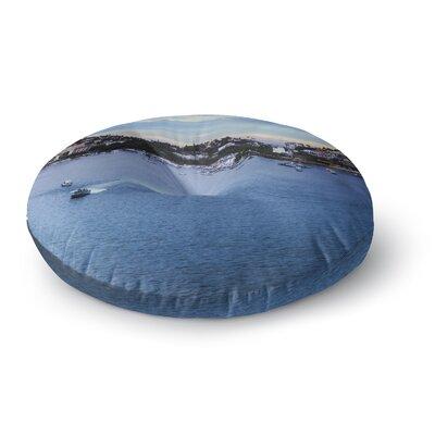Nick Nareshni Puerto Rico Coastline Photography Round Floor Pillow Size: 23 x 23