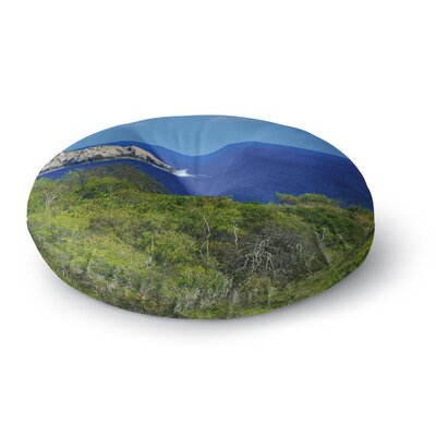 Nick Nareshni Forest to the Ocean Photography Round Floor Pillow Size: 26 x 26