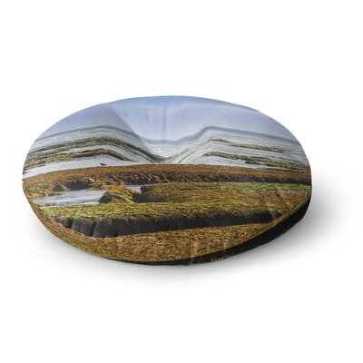 Nick Nareshni Low Tide Reef Photography Round Floor Pillow Size: 23 x 23