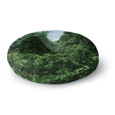 Nick Nareshni Forest in the Sky Photography Round Floor Pillow Size: 23 x 23