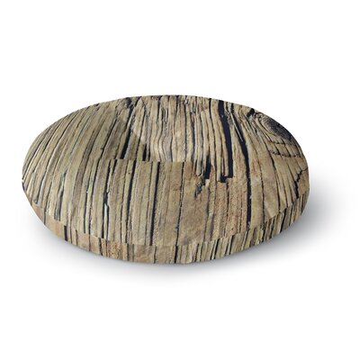 Nick Nareshni Tree Bark Pattern Photography Round Floor Pillow Size: 26 x 26