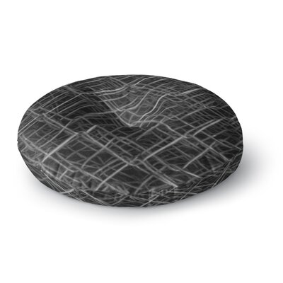 Nick Nareshni Urban Metal Links Photography Round Floor Pillow Size: 26 x 26