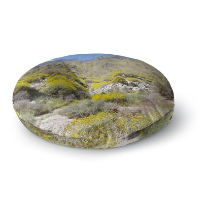 Nick Nareshni Desert Colors Photography Round Floor Pillow Size: 26 x 26