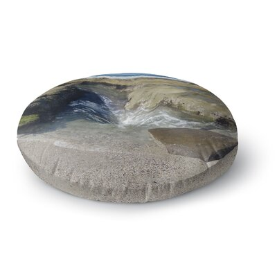 Nick Nareshni Coastal Reef Photography Round Floor Pillow Size: 23 x 23
