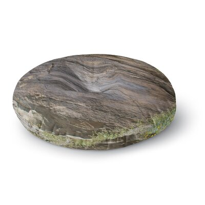 Nick Nareshni Desert Stone Wall Photography Round Floor Pillow Size: 26 x 26