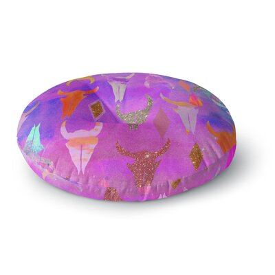 Nikki Strange Rodeo Round Floor Pillow Size: 23 x 23
