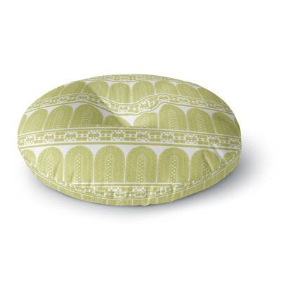 Nandita Singh Tribal Round Floor Pillow Size: 23 x 23