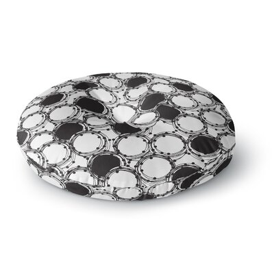 Nandita Singh Beaded Bangles Round Floor Pillow Size: 26 x 26