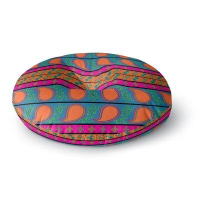 Nandita Singh Bohemian Round Floor Pillow Size: 26 x 26
