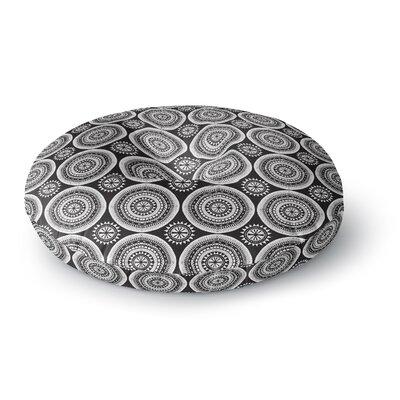 Nandita Singh Circles Round Floor Pillow Size: 26 x 26