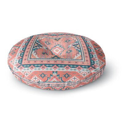 Nandita Singh Dreamy Aztec Digital Round Floor Pillow Size: 26 x 26