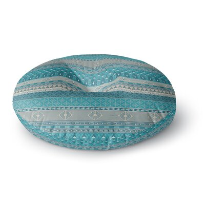 Nandita Singh Maya Digital Round Floor Pillow Size: 23 x 23