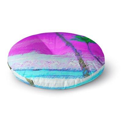 Oriana Cordero Caribe S Round Floor Pillow Size: 26 x 26