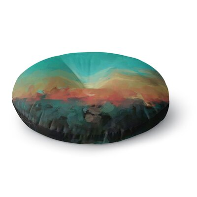 Oriana Cordero Martinique Round Floor Pillow Size: 26 x 26
