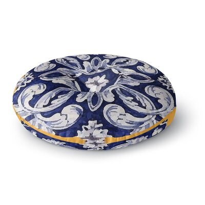 Oriana Cordero Lisboa Round Floor Pillow Size: 23 x 23