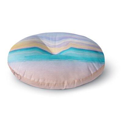 Oriana Cordero Las Terrenas Round Floor Pillow Size: 26 x 26