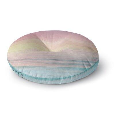 Oriana Cordero Capri Round Floor Pillow Size: 23 x 23
