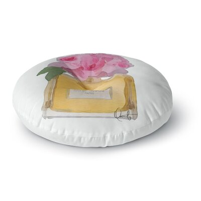 Oriana Cordero EAU DE PARFUM V3 Round Floor Pillow Size: 26 x 26
