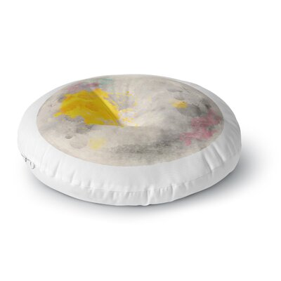 Oriana Cordero Moonlight Round Floor Pillow Size: 26 x 26
