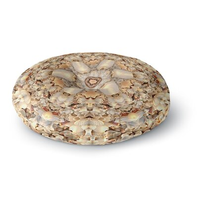Prb Seashell Fairy Tale Digital Round Floor Pillow Size: 26 x 26