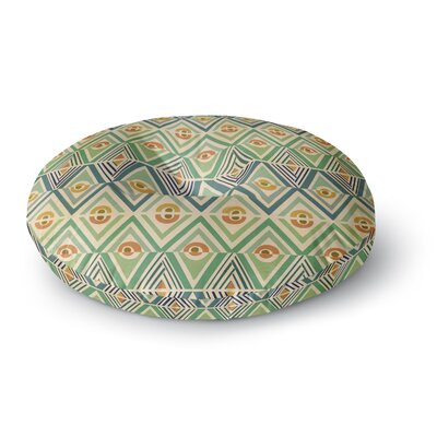 Pom Graphic Design Celebration Round Floor Pillow Size: 23 x 23