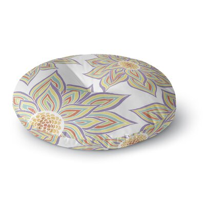 Pom Graphic Design Floral Rhythm Round Floor Pillow Size: 23 x 23