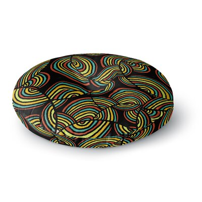 Pom Graphic Design Infinite Depth Round Floor Pillow Size: 26 x 26