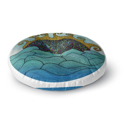 Pom Graphic Design Oceania Round Floor Pillow Size: 26 x 26