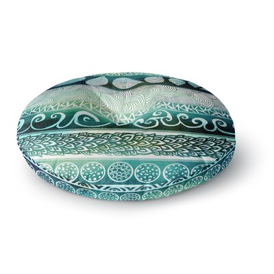 Pom Graphic Design Dreamy Tribal Round Floor Pillow Size: 26 x 26