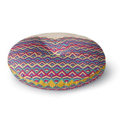 Pom Graphic Design Horizons III Round Floor Pillow Size: 26 x 26