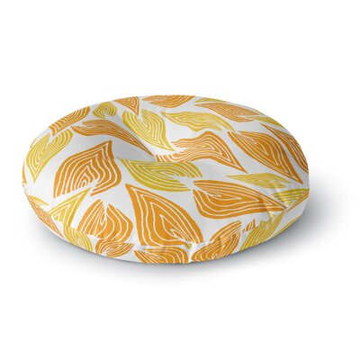 Pom Graphic Design Autumn Round Floor Pillow Size: 26 x 26