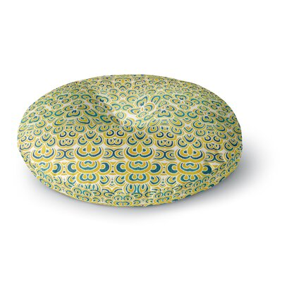 Pom Graphic Design Animal Temple Round Floor Pillow Size: 23 x 23