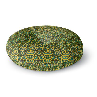 Pom Graphic Design Animal Temple II Round Floor Pillow Size: 23 x 23