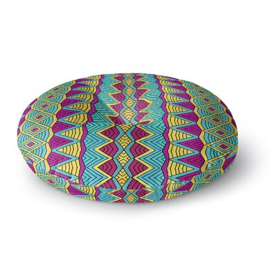 Pom Graphic Design Tribal Soul II Round Floor Pillow Size: 23 x 23