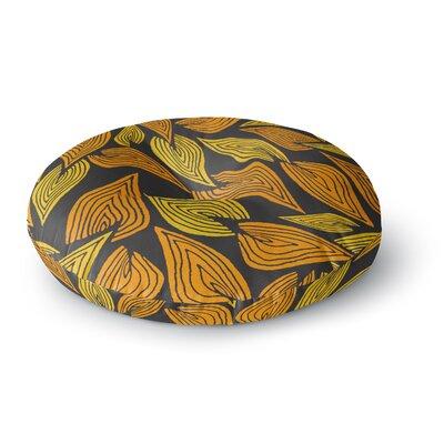 Pom Graphic Design Autumn II Round Floor Pillow Size: 26 x 26