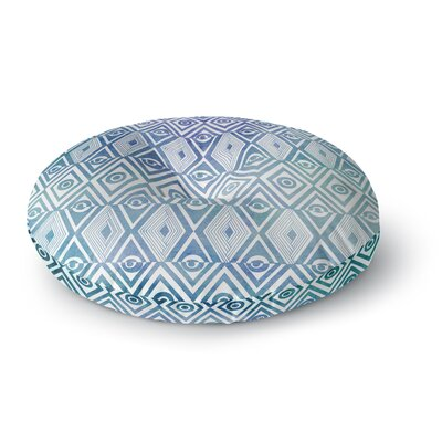 Pom Graphic Design Tribal Empire Round Floor Pillow Size: 26 x 26
