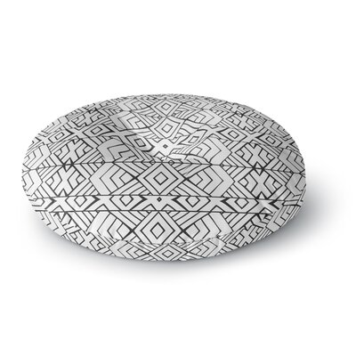 Pom Graphic Design Tribal Expression Round Floor Pillow Size: 26 x 26