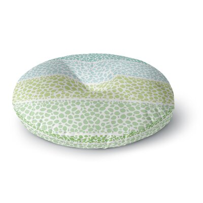 Pom Graphic Design Zen Pebbles Round Floor Pillow Size: 23 x 23
