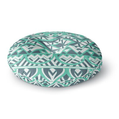 Pom Graphic Design Tribal Simplicity Round Floor Pillow Size: 26 x 26
