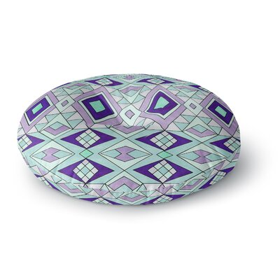Pom Graphic Design Gems Round Floor Pillow Size: 26 x 26