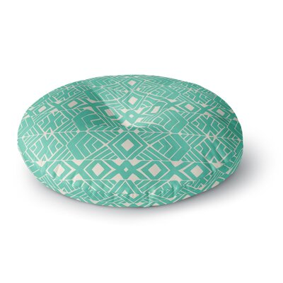 Pom Graphic Design Going Native Round Floor Pillow Size: 26 x 26