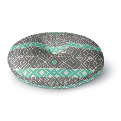 Pom Graphic Design Going Tribal Round Floor Pillow Size: 23 x 23