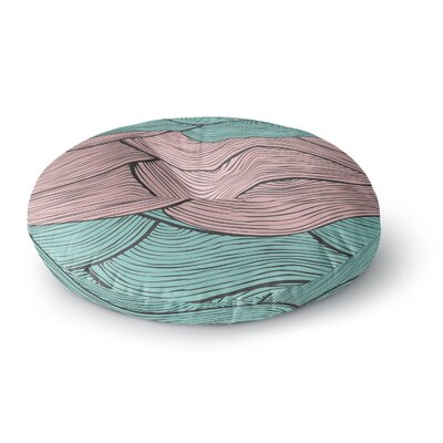 Pom Graphic Design Summerlicious Round Floor Pillow Size: 26 x 26