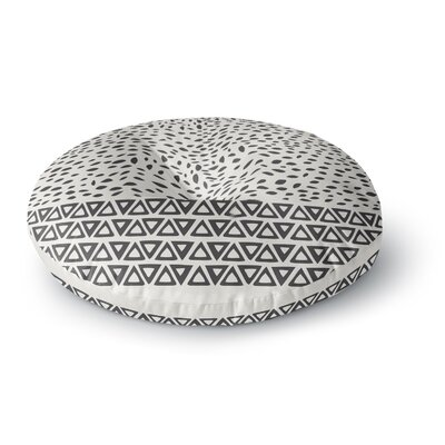 Pom Graphic Design Wind Day Round Floor Pillow Size: 23 x 23